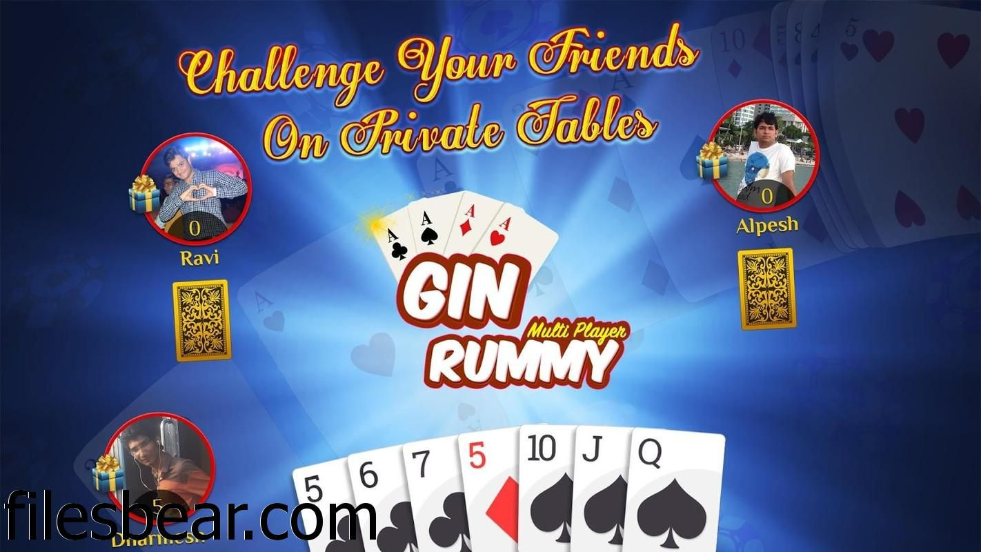 You can now get Multiplayer Gin Rummy along with many
