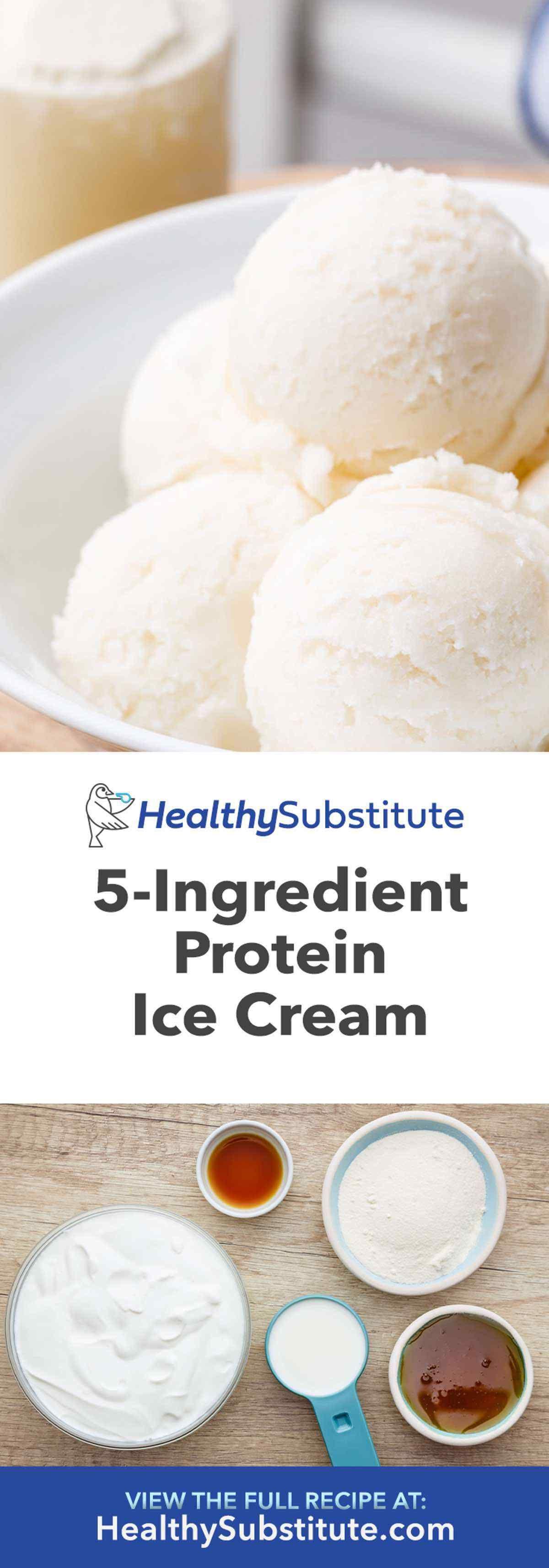 Protein Ice Cream Recipe #icecreampopsicle