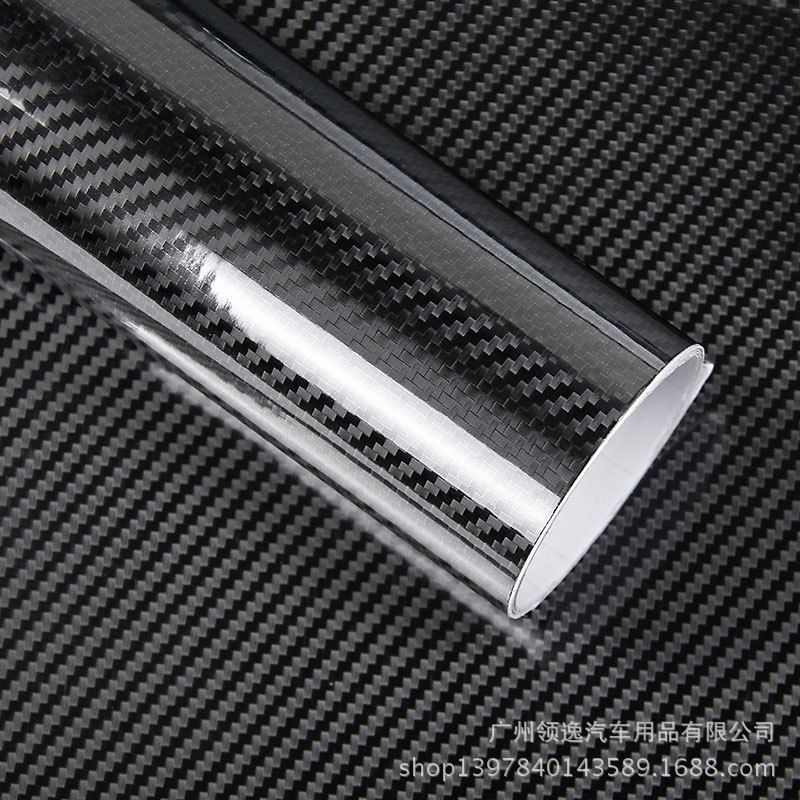 Customizable Motor Sticker Glossy Black 5d Carbon Fiber Vinyl Wrap Film Diy Motor Decorative For Motorcycle Motor Car Carbon Fiber Vinyl Car Wrap Car Stickers