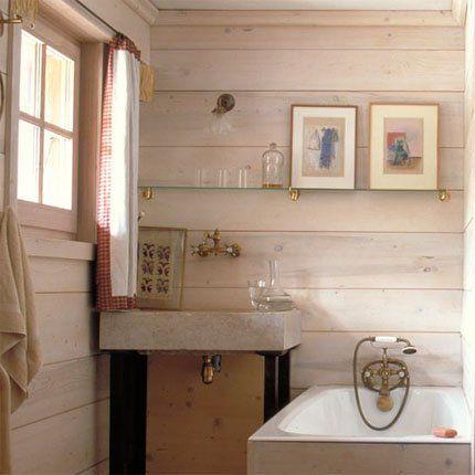 Patiner au blanc du0027Espagne Spaces Pinterest Woods, Spaces and - repeindre du carrelage de salle de bain