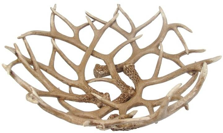 SONOMA Goods for LifeTM Antler Decorative Bowl #ad #antlers #bowls