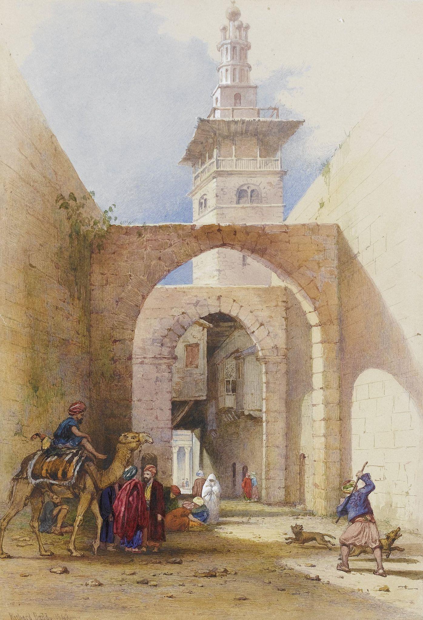 Jerusalem Old City In 18th Century Art Richard Dadd Islamic Art