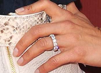 Brooke Burke Engagement Ring Band 6 Celebrity Engagement Rings