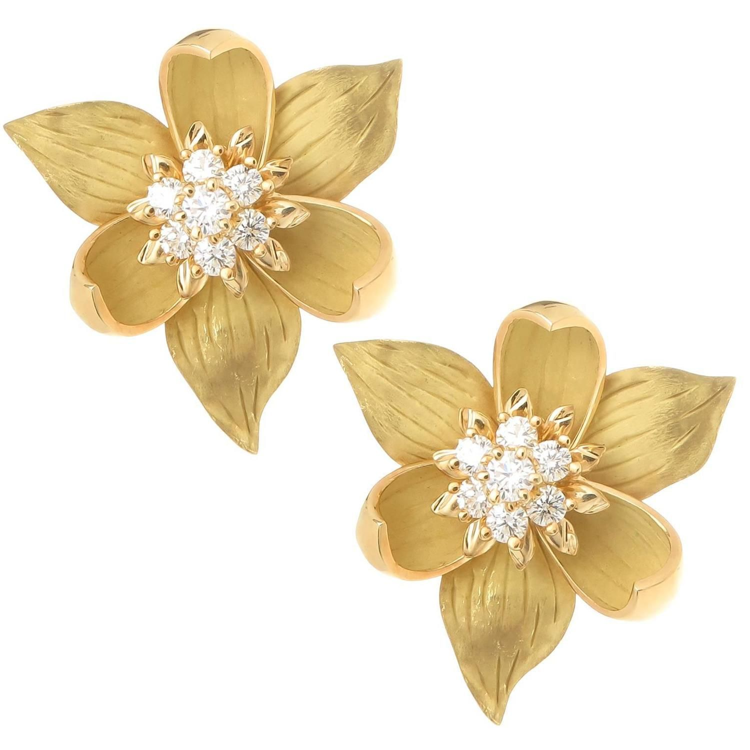 big products enamel earrings cabb rs stud flauntandfun flower at buy only for
