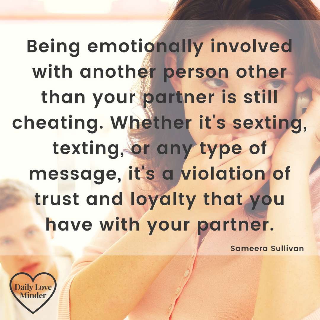 Healthy relationships are built on openness and trust  But