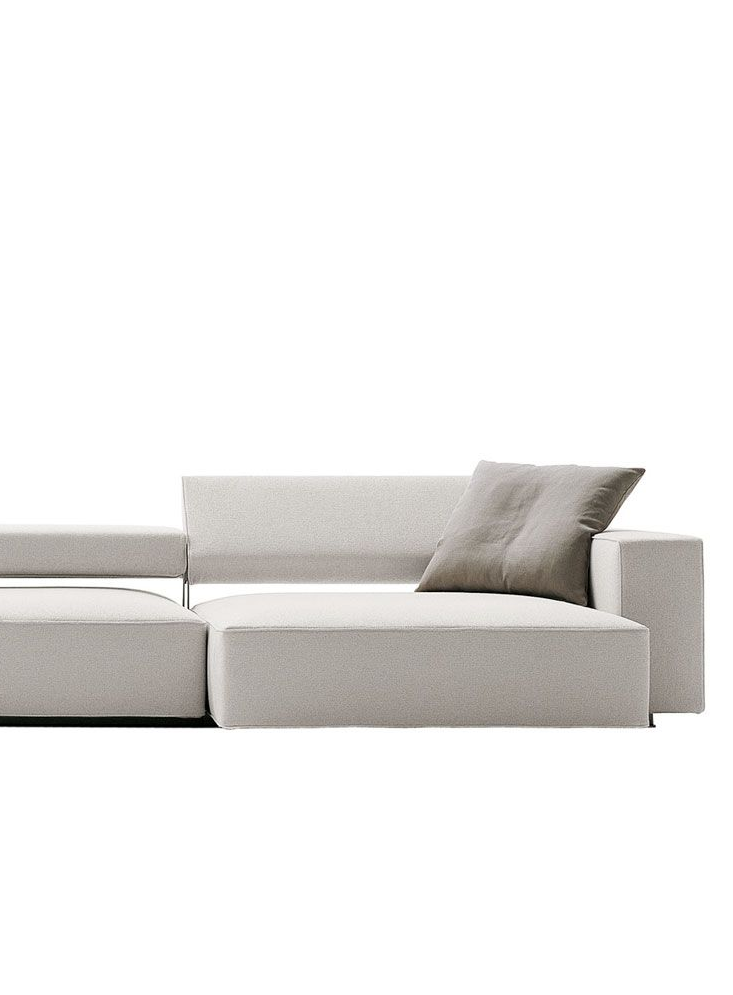 Sofa Andy light grey | couch . Sofa . canapé | Design: Paolo Piva ...