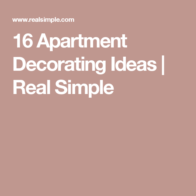 16 Decorator Tricks for Small Living Rooms and More | Apartments ...