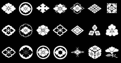 花菱紋 On 家紋world 家紋 図鑑 和柄