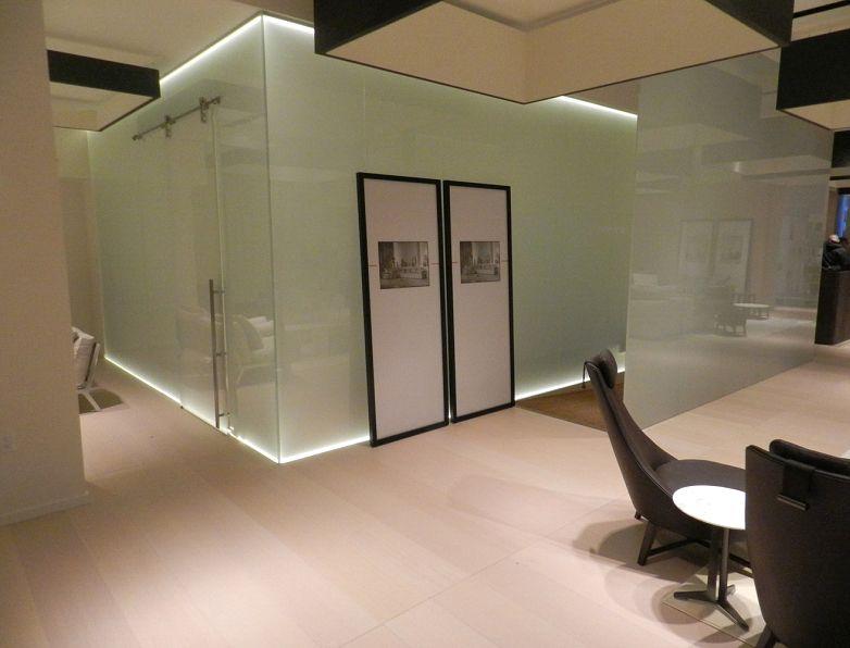 Il vetro può ispirare soluzioni innovative per suddividere