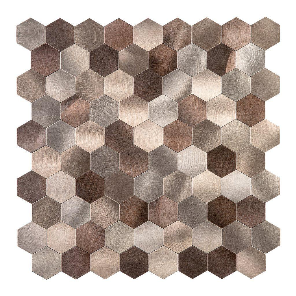 Pin On Decopus Metal Tile Peel And Stick Backsplash