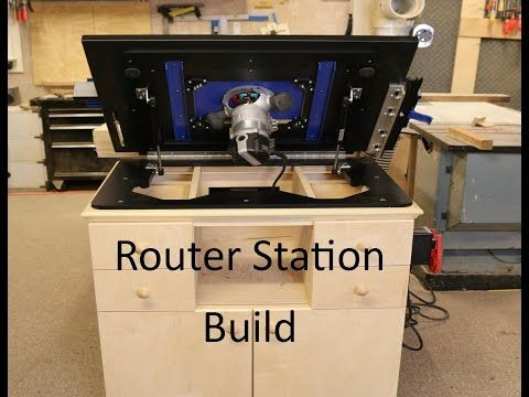 Router station build with dowelmax lift youtube routers router router station build with dowelmax lift youtube greentooth Gallery