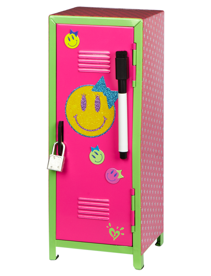 Smile icon mini locker room accessories room decor for Room decor justice