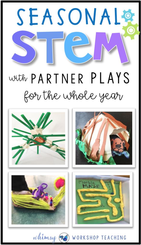 Seasonal Stem With Partner Plays Stem Activities Pinterest
