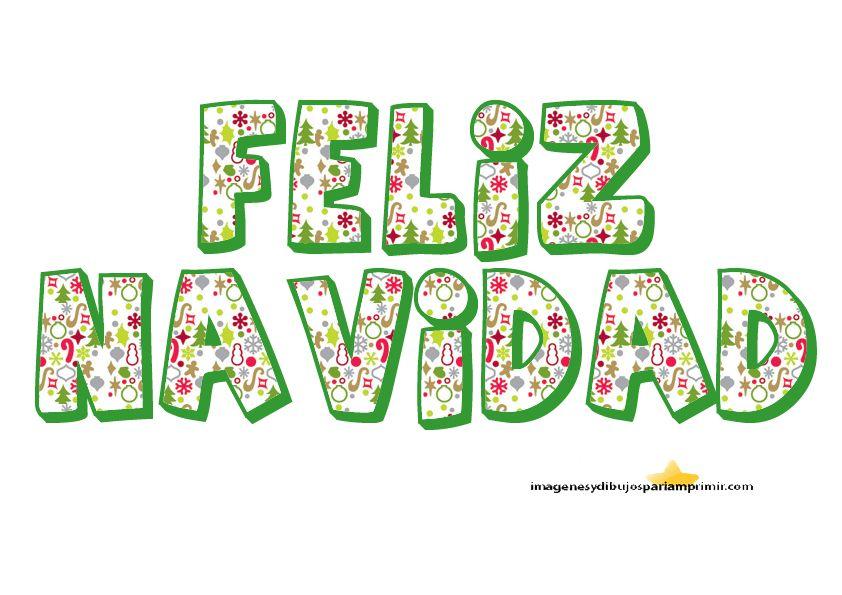 Letras Infantiles De Feliz Navidad Navidad Pinterest