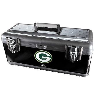 Green Bay Packers Tool Box. Get Yours Today From. www.bjsportstore.com