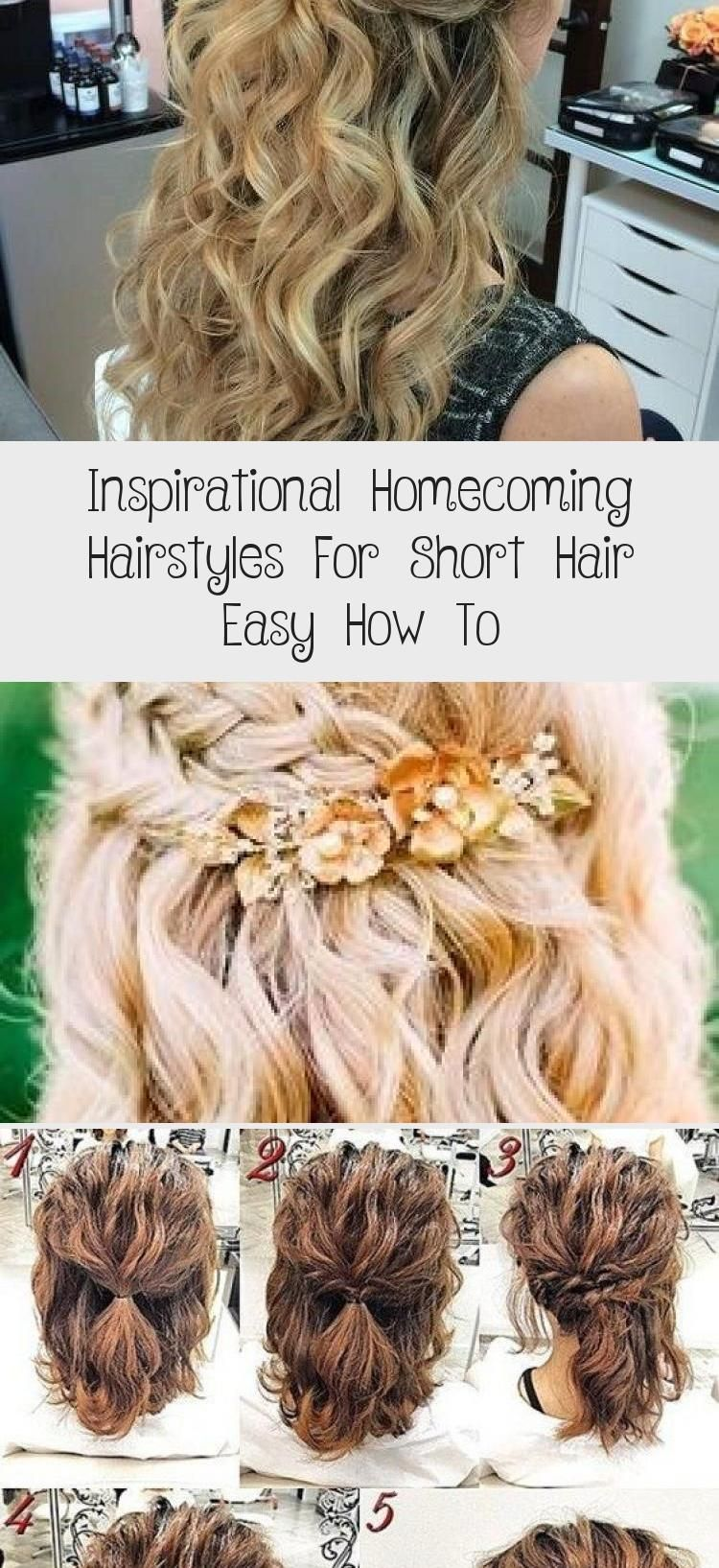 Inspirational Homecoming Hairstyles For Short Hair Easy How To Celina Home Short Hair Styles Easy Homecoming Hairstyles Short Hair Styles