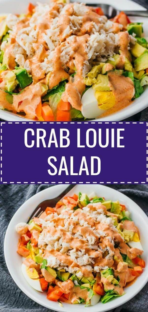 This easy crab salad recipe is versatile and can be adjusted to anyone's taste. ... -