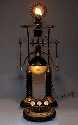 Trend Leuchten Steampunk gadgets Steampunk lampe Steampunk Entwurf Steampunk Cosplay Lampen Zum Verkauf Maschinenzeitalter Industriebeleuchtung Dampf punk