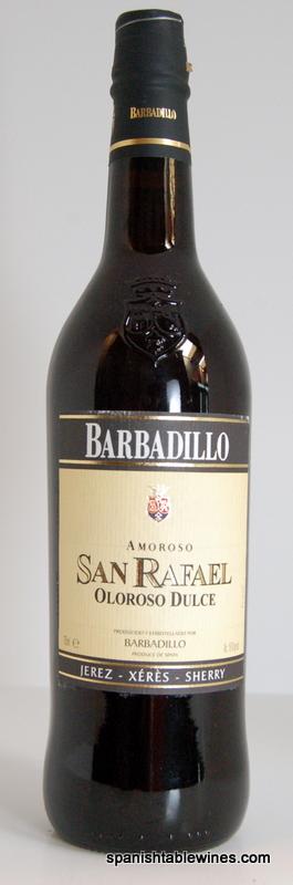San Rafael Oloroso Dulce - Barbadillo