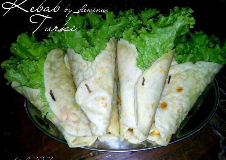 Resep Kebab Turki Kitaberbagi Oleh Dewi Nugrah Resep Makanan Resep Makanan Cemilan