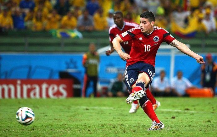 James Rodriguez gol Colômbia (Foto: Getty Images)