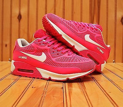 b674c4d1bb ... 2010 Nike Air Max 90 Ultra BR Size 4Y - Pink White - 317766 613 ...
