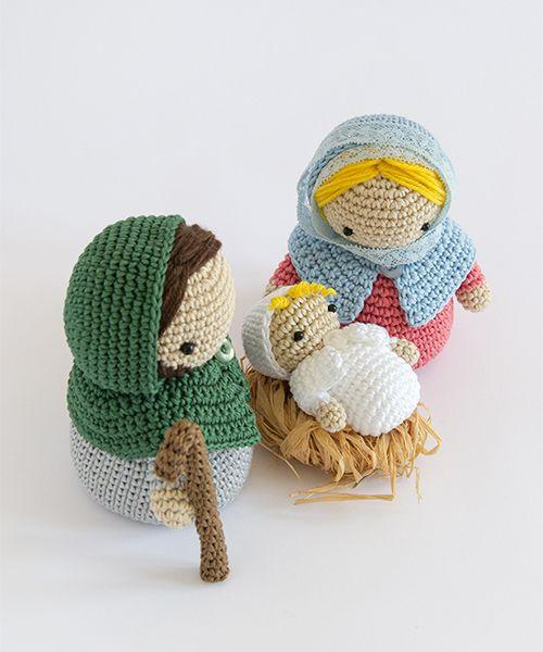 Amigurumi Winter Wonderland Nativity Scene Navidad Crochet