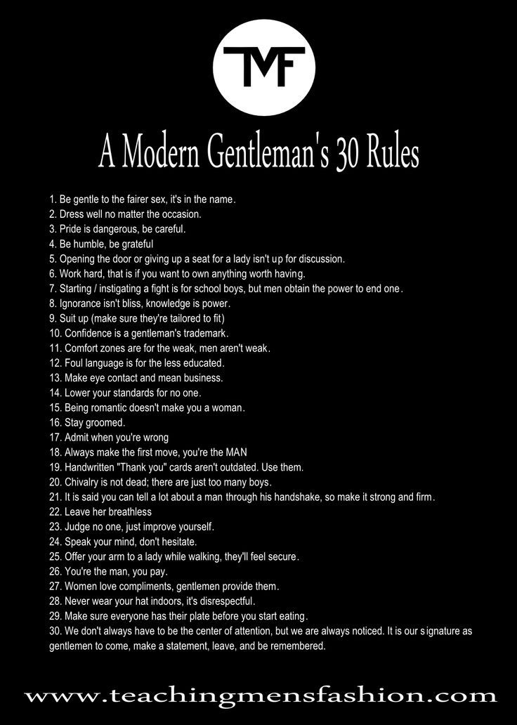 from Everett 18 rules of modern dating