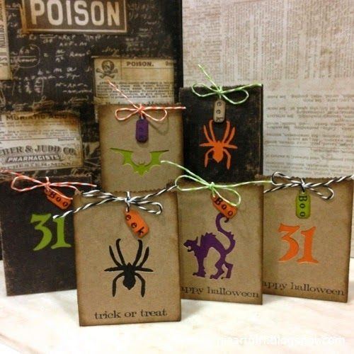 Richele Christensen: Trick or Treat Bags for Halloween!