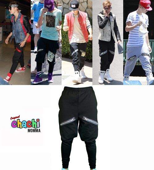 ChachiMomma pants can be bought either online or in several storesthroughout Quezon in the Philippines.