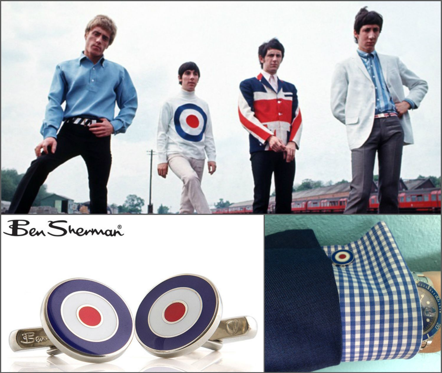 Vintage Ben Sherman Cufflinks
