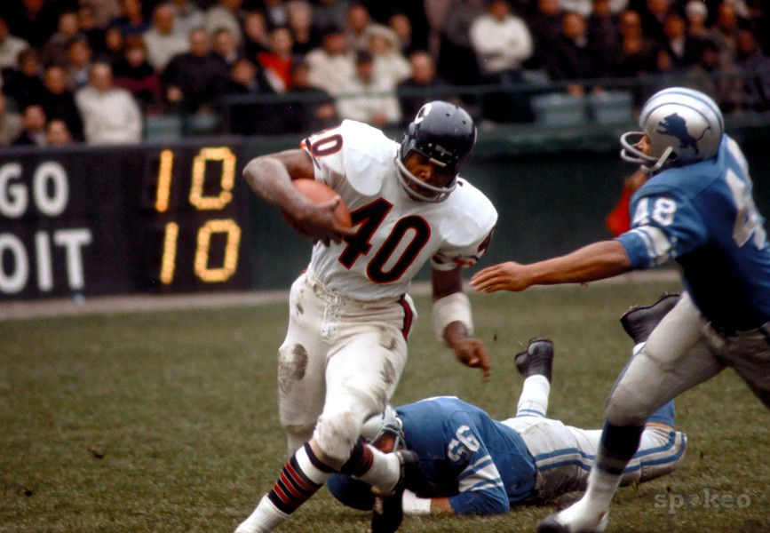 Gayle Sayers, Chicago Bears Chicago sports teams