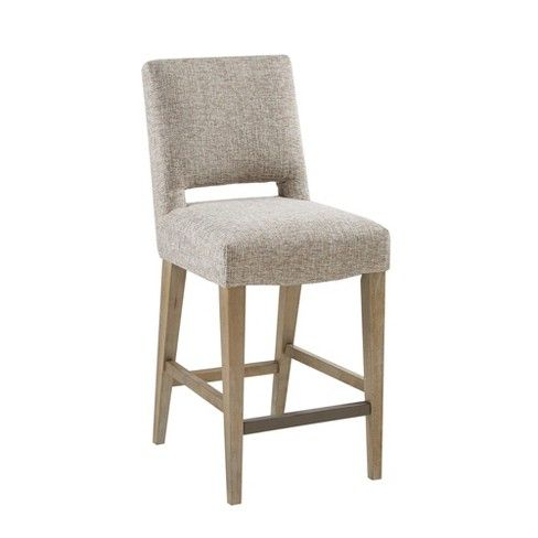 Superb Burke Counter Stool Cream Chairs Upholstered Bar Stools Machost Co Dining Chair Design Ideas Machostcouk
