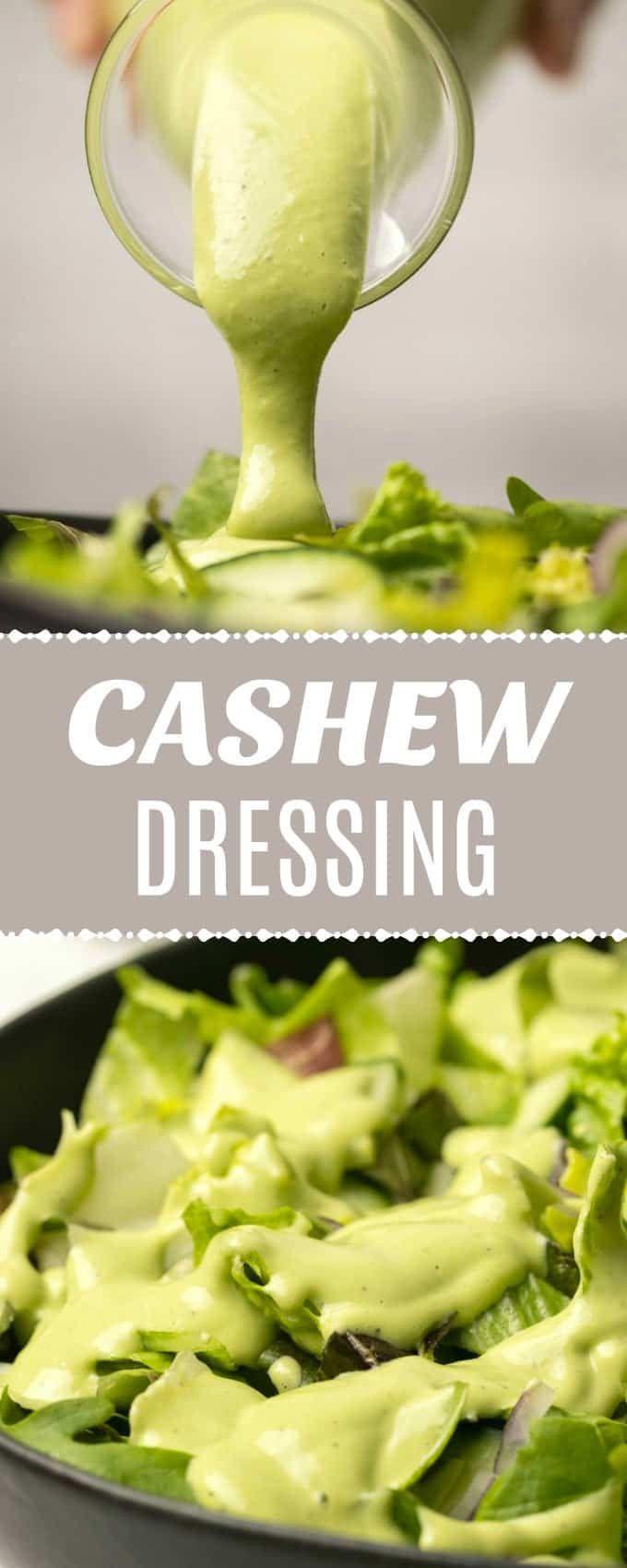 Cashew-Dressing mit frischen Kräutern   – Best of Loving It Vegan