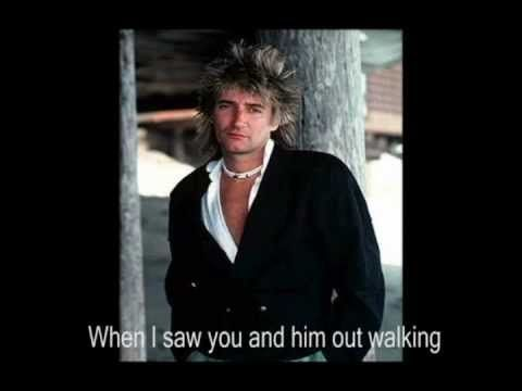 Rod Stewart I D Rather Go Blind Lyrics Rod Stewart Forever Young Lyrics