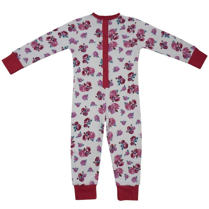 04cc9bfea Powell Craft Girls Red Rose Onesie