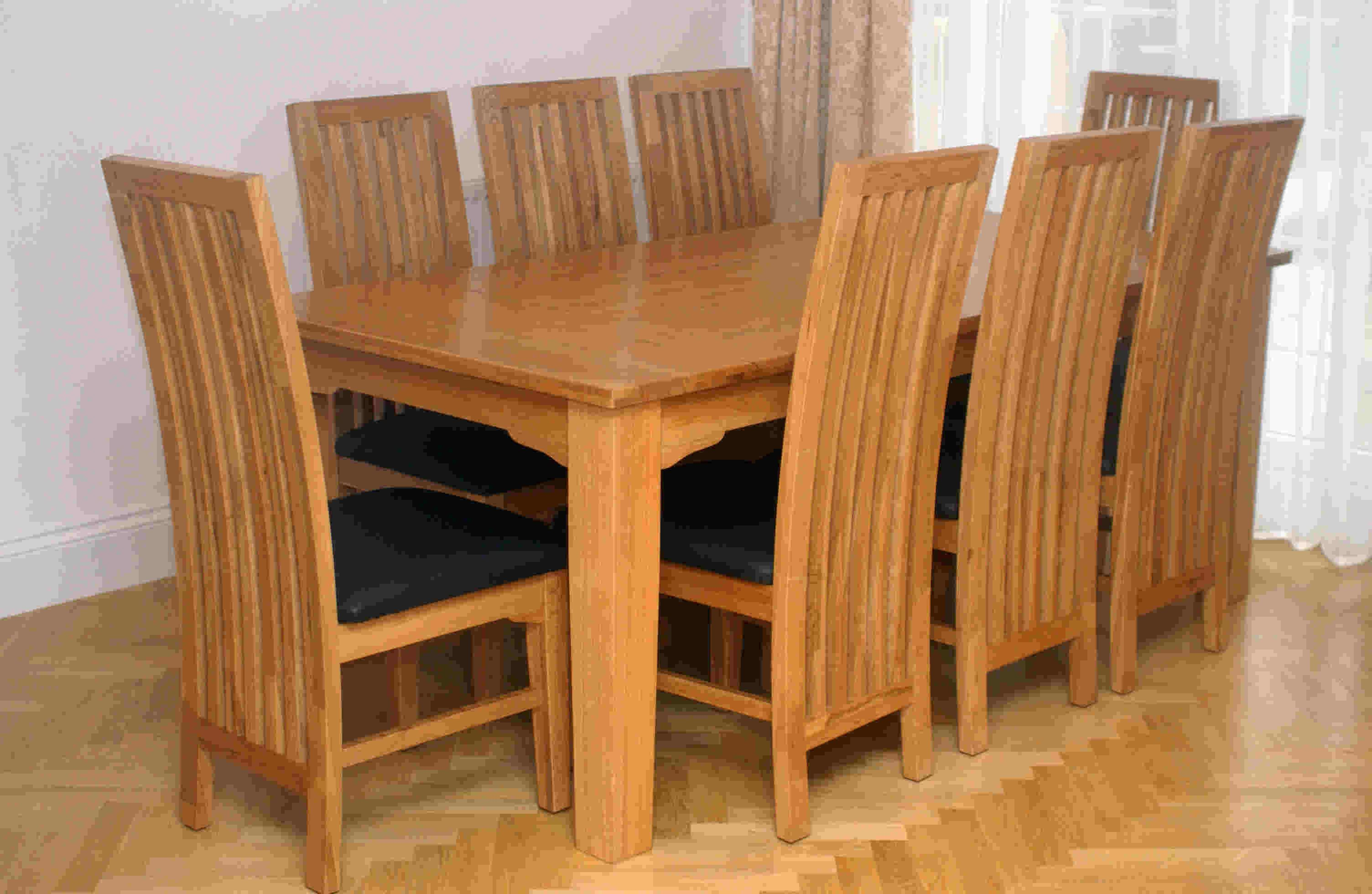 Oak Dining Room Furniture Sturdy Building May Take Years Of Wear And Tear Getting Older Items Be Easily Sanded As Well Re Stained Or Painted