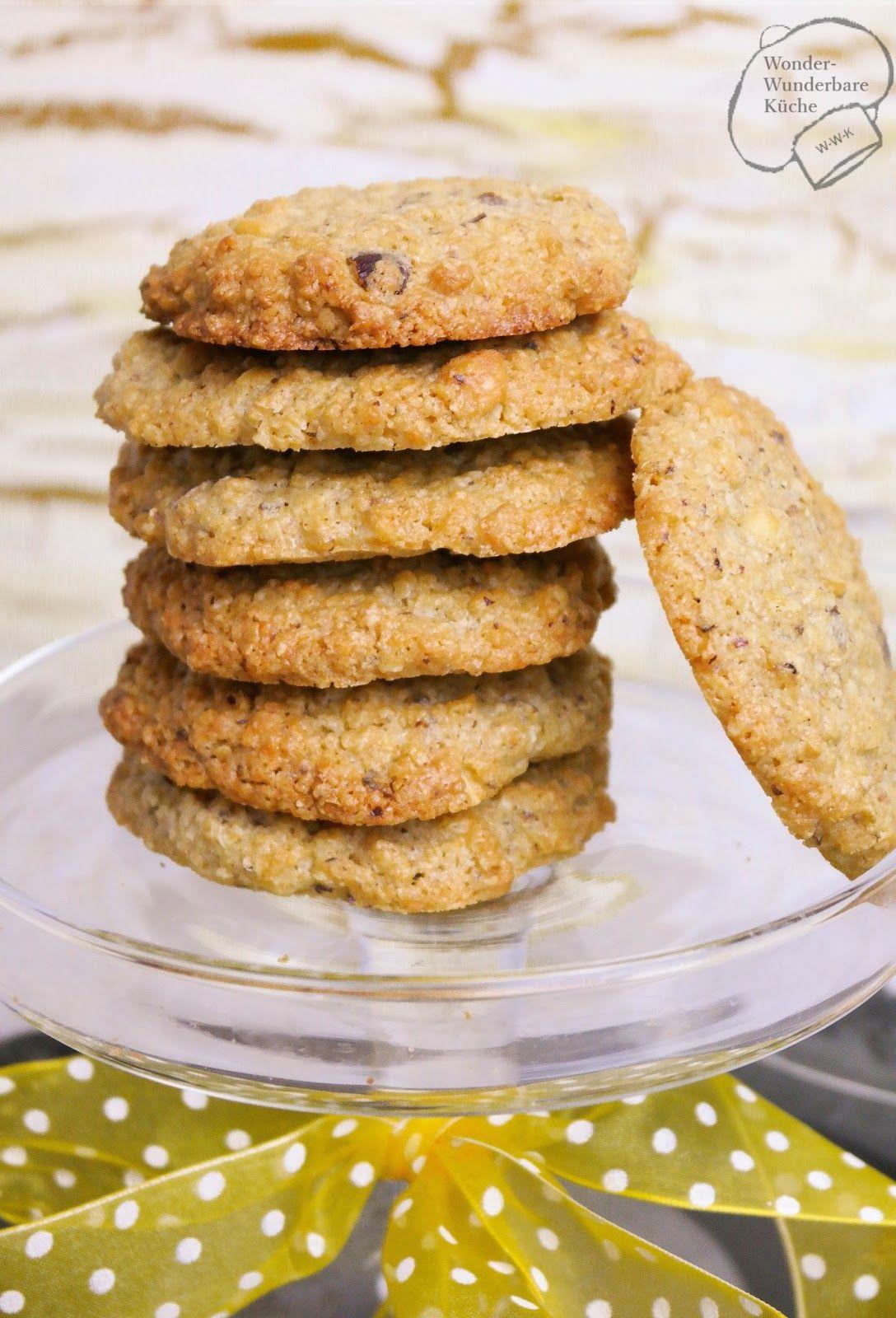 Wonder Wunderbare - Küche: Oatmeal Cookies mit Haselnüssen