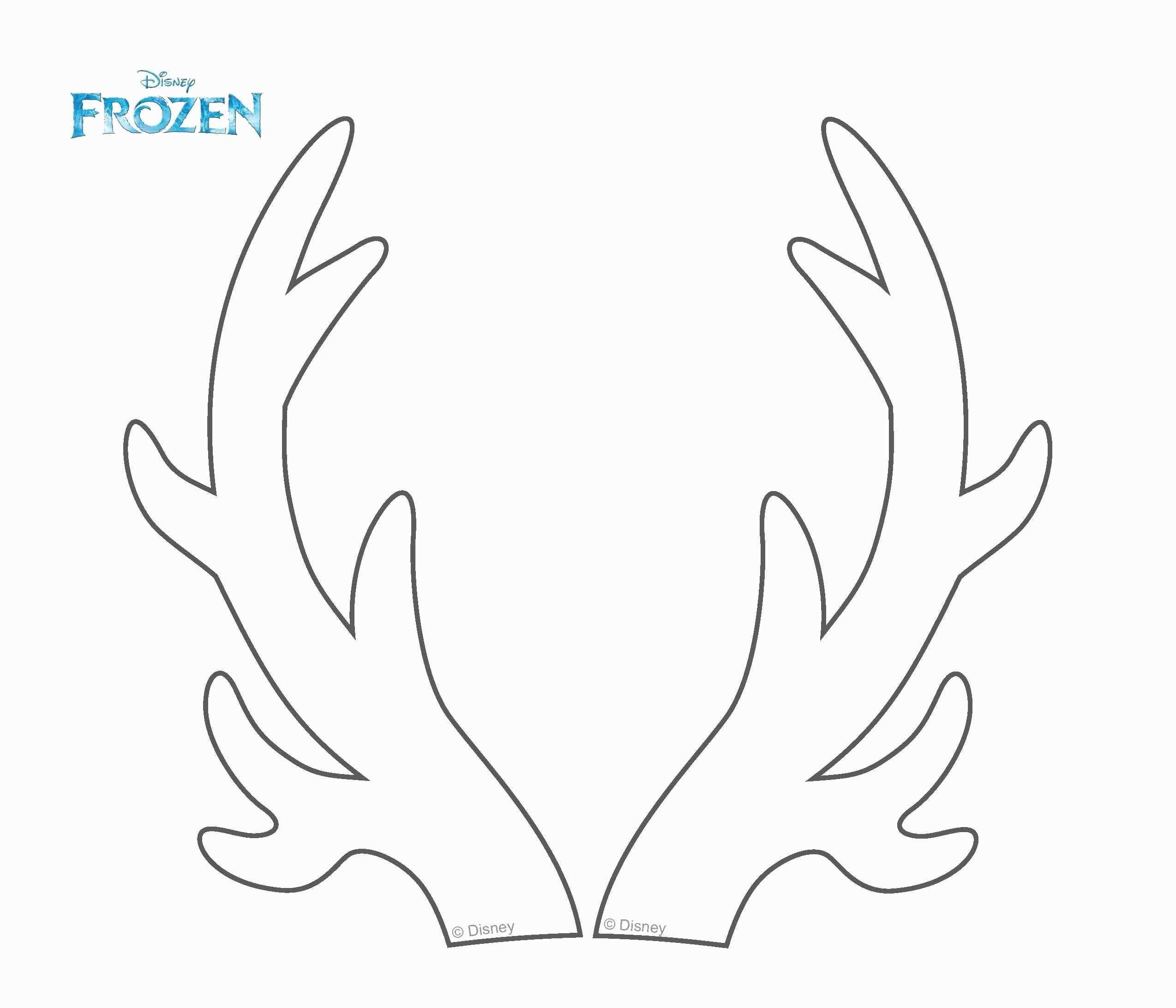Reindeer Antlers Template Lovely Amazing Reindeer Antler Template Gift Example Resume Ideas Hairstyli Reindeer Antlers Reindeer Drawing Diy Christmas Reindeer
