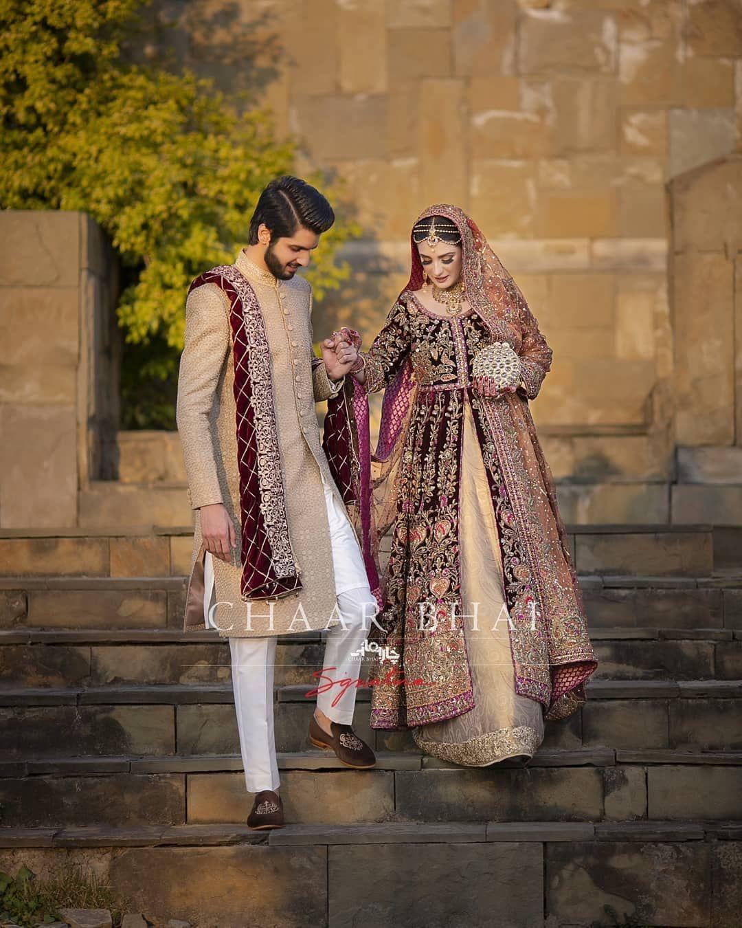 Awesome Wedding Photos Of Singer Abdullah Qureshi Daily Infotech Couple Wedding Dress Asian Wedding Dress Pakistani Bridal Dress Fashion