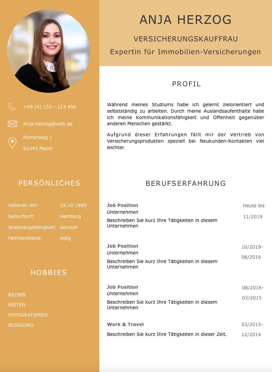 Lebenslauf Design Vorlage Premium Xl Gold Eine Perfekte Bewerbung Lebenslauf Design Lebenslauf Design Vorlage Lebenslauf