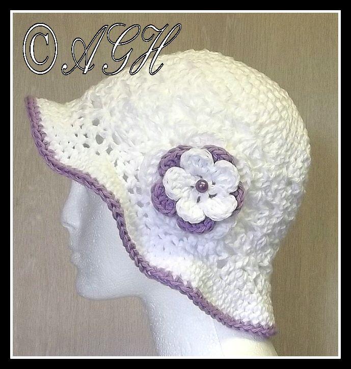 Sombrero de verano   Gorros tejidos   Pinterest   Sombreros de ...