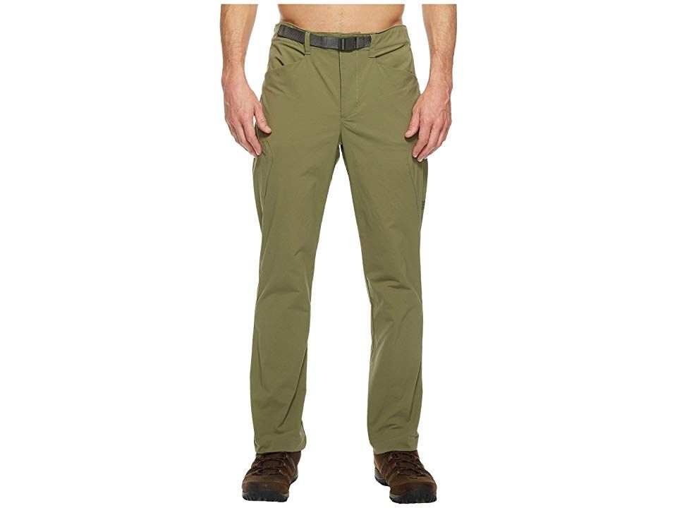 The North Face Straight Paramount 30 Pants Deep Lichen Green Mens Casual Pants A durable and classic pair of pants that are perfect for any adventure Straight leg fit Dur...