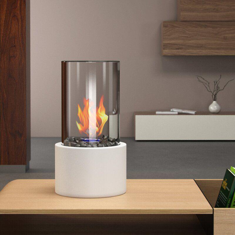 Eden Ventless Portable Bio Ethanol Tabletop Fireplace in