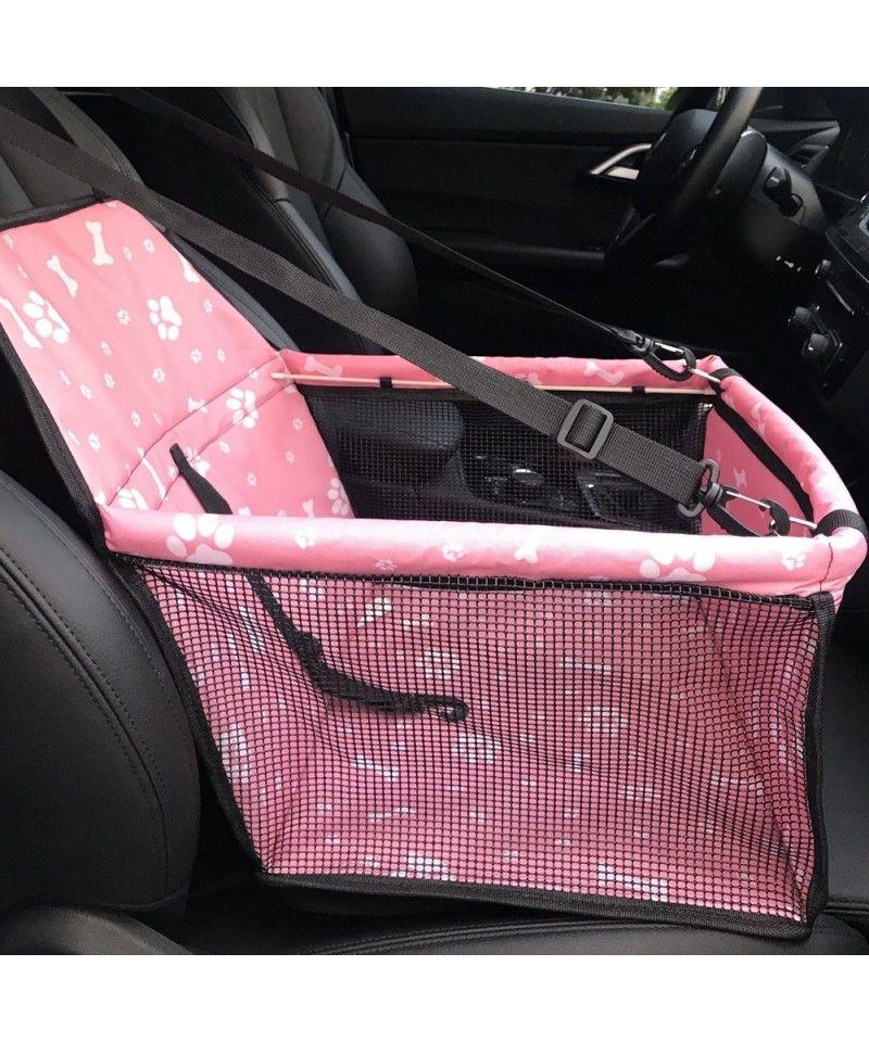 Car Front Row Waterproof Printing Anti-Deformation Pet Car Mat – Pink – 5F56910215