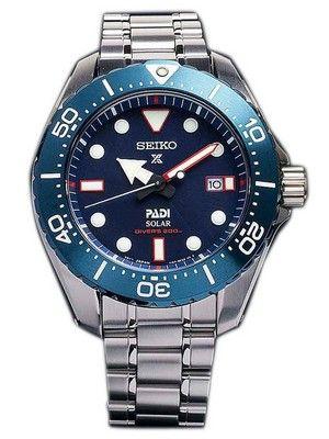 4c3410d5f Seiko Prospex PADI Titanium Solar Diver's 200M Limited Edition SBDJ015  Men's Watch