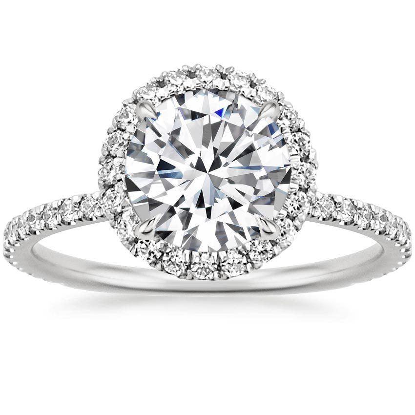Superb K White Gold Waverly Diamond Ring ct tw from