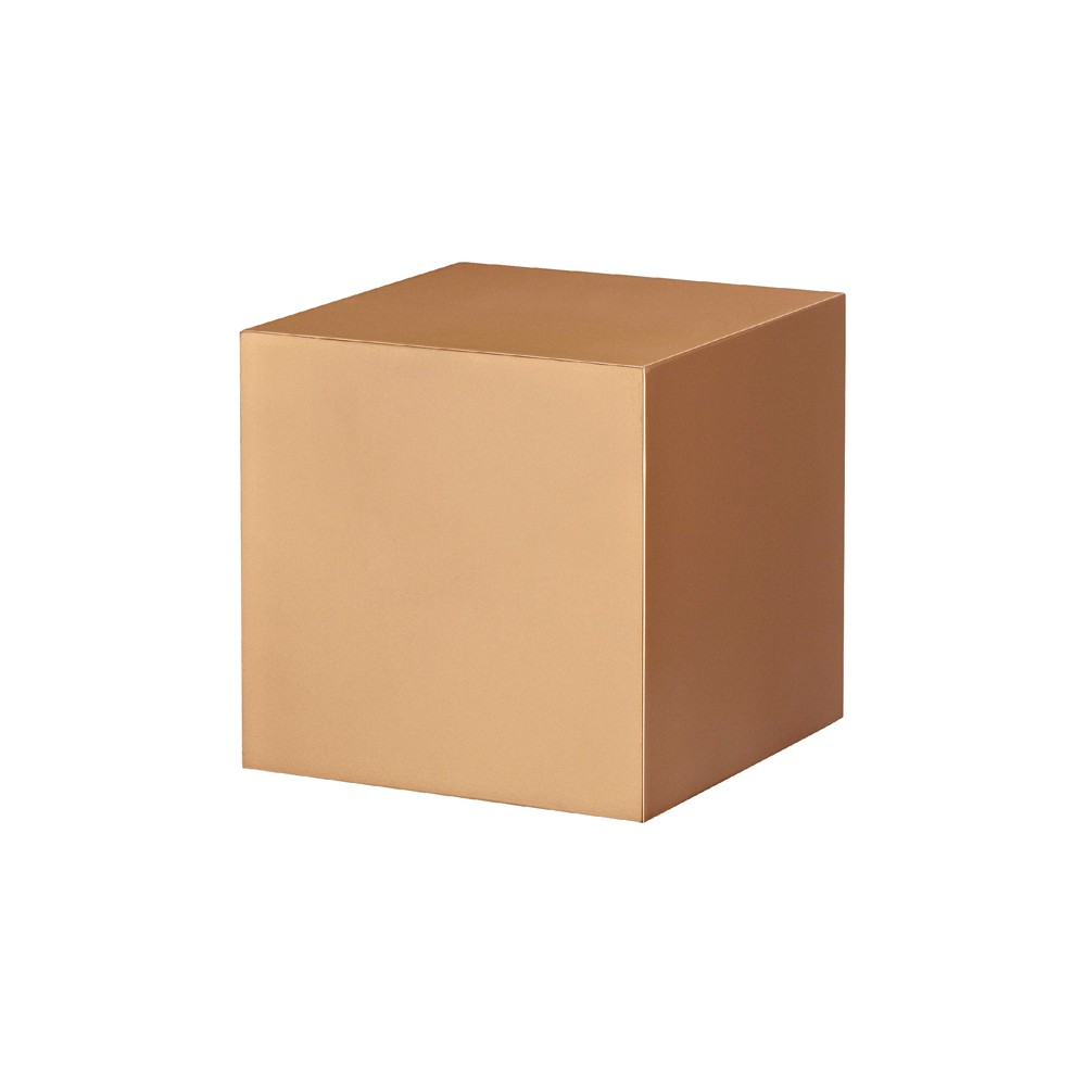 Dolle Shelving Dolle Dado Floating Cube Wall Shelf - Copper   Cube ...