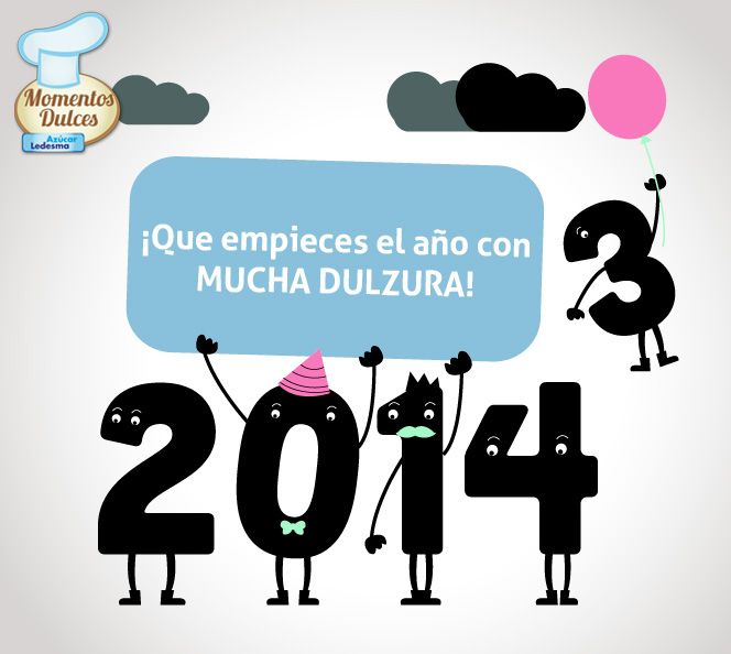 ¡Este es nuestro deseo para el 2014! ¡#FelizAño!