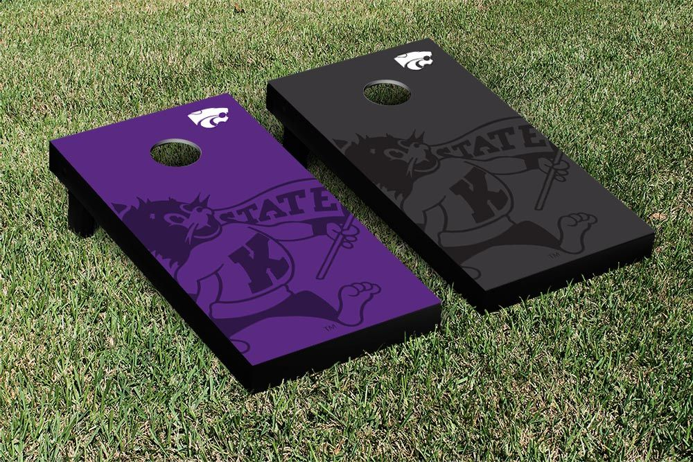 Kansas State K State Wildcats Cornhole Game Set Watermark Version - Spring Game is right around the corner!